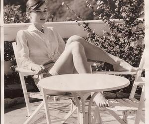 audrey hepburn and vintage image