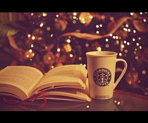 coffee, starbuck, and christmasthree image