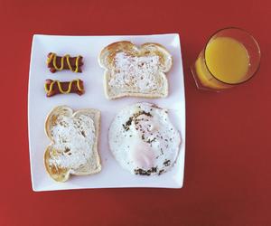 breakfast, nog, and eggs image