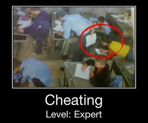 cheating, funny, and kid image