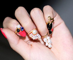 fashion, jewelry, and lovely image