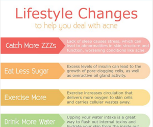 beauty tips and acne image