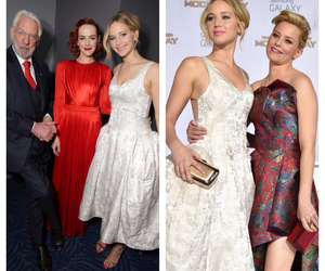Elizabeth Banks, jena malone, and Jennifer Lawrence image