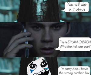 dylan o'brien, funny, and bae image