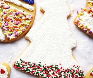 christmas, Cookies, and sugar cookies image