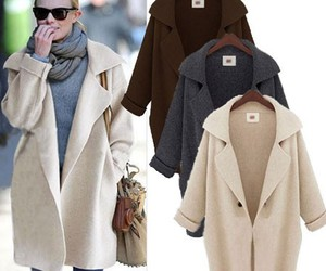 womens fashion, womens cardigans, and womens clothing image