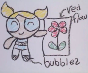 bubbles, flower, and ppg image
