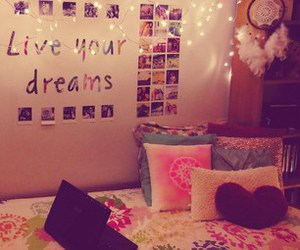 room, bedroom, and Dream image