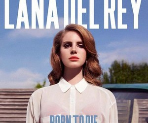 music, born to die, and lana del rey image