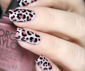 art, black, and leopardo image