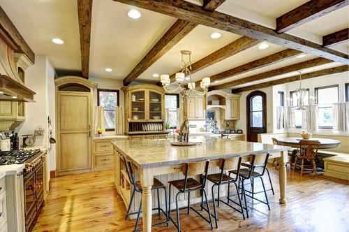 dream house, dream kitchen, and kitchen image