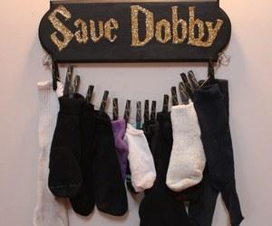 harry potter, dobby, and socks image