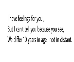 love quote, age difference, and age gap image