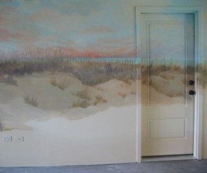 room, art, and door image