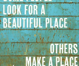quotes, beautiful, and place image