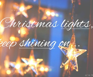 bright, christmas, and stars image