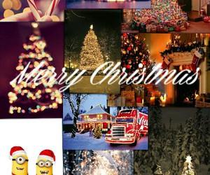 december, lights, and lol image