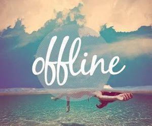 offline, beach, and summer image