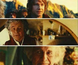 bilbo, hobbit, and lord of the rings image