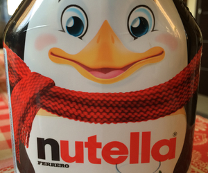 nutella and pinguin image