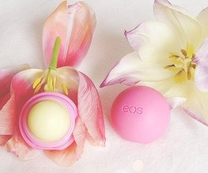 eos, flowers, and lips image