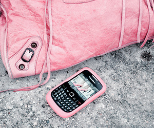 pink, blackberry, and bag image