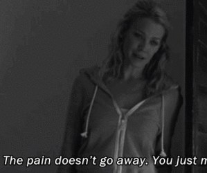 pain, quote, and black and white image