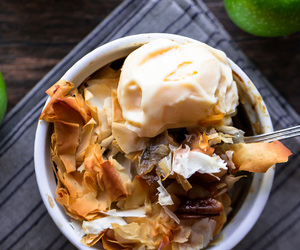 apple, pie, and walnut image
