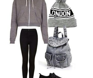 beanie, lovely, and Polyvore image