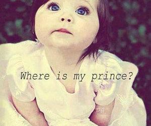 princess, cute, and prince image