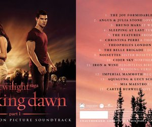 breaking dawn, soundtrack, and ost image
