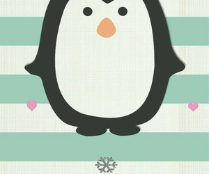 penguin and christmas image