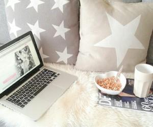 stars, food, and breakfast image
