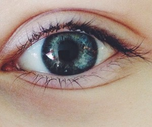 blue, eye, and pretty image