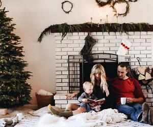 christmas and family image