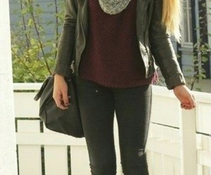 beautiful, outfit, and skinny image