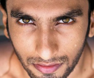 bollywood, green eyes, and ranveer singh image