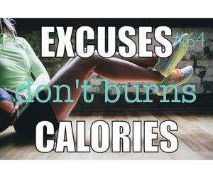 calories, cardio, and diet image