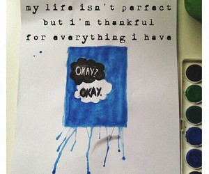 my life, quote, and tfios image