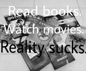 books, harry potter, and Jennifer Lawrence image