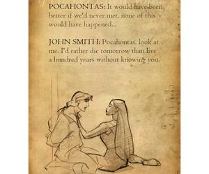 disney, john smith, and pochahontas image