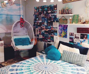 boho, colors, and om image