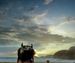 where the wild things are, monster, and child image