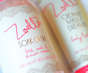 bath, cosmetics, and pink image