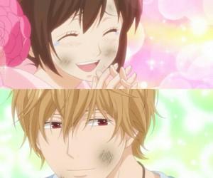 erika, sata kyouya, and anime couple image
