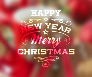 christmas, happy new year, and merry christmas image