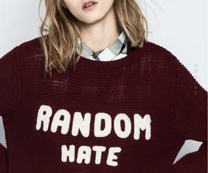 fashion, grunge, and maroon image