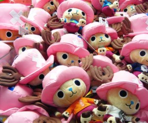 chopper, one piece, and plush image