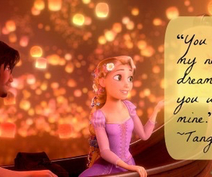 boat, quote, and tangled image