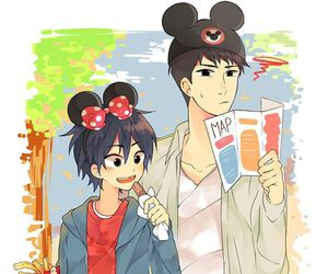 cute, big hero 6, and hiro hamada image